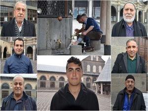 Diyarbakırlı vatandaşlar: Üç ayları fırsat bilip ibadetlerle geçirmeliyiz