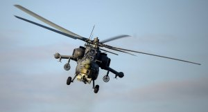 Humus'ta Rus savaş helikopteri düştü