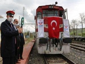 Sivas-Samsun tren hattı yeniden açıldı