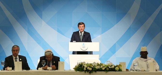 Başbakan Davutoğlu, İslam İşbirliği Teşkilatı 13. Zirvesi'nde konuştu
