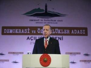 """Cumhurbaşkanı Erdoğan: """"Darbeciler hep aynı kodlarla hareket etmişlerdir"""""""