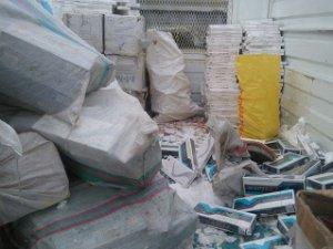 Bitlis'te 105 paket kaçak sigara ele geçirildi