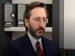"""İletişim Başkanı Altun'dan """"Barış Çakan"""" açıklaması"""