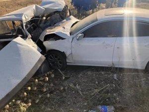 Şanlıurfa'da feci kaza! Bir ölü 2 yaralı
