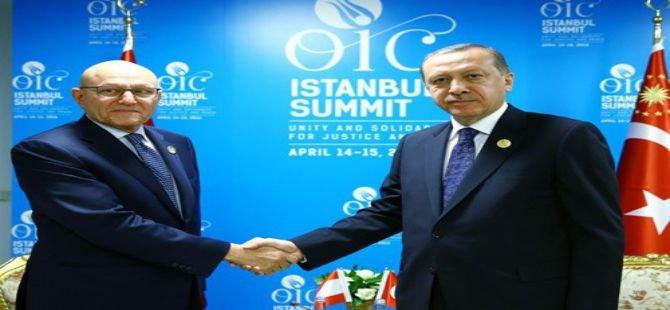 Cumhurbaşkanı Erdoğan, Lübnan Başbakanını kabul etti
