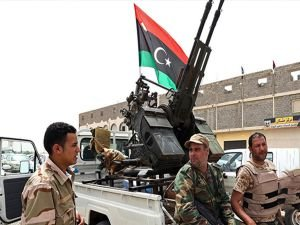 Libya ordusu Terhune kentini ele geçirdi