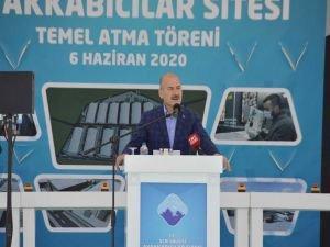 """İçişleri Bakanı Soylu: """"Ağrı yatırımlarla cazibe merkezi olacak"""""""