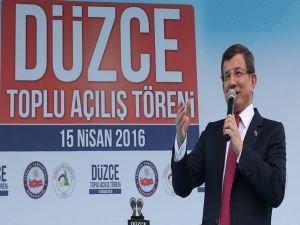 Davutoğlu: Eski Türkiye'nin ne demek olduğunu sizler bilirsiniz