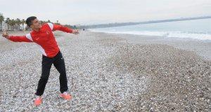 Kızıltepe'li Genç Şimdi Milli Sporcu!