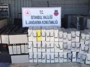 Akü hırsızı İstanbul'da düzenlenen operasyonla yakalandı