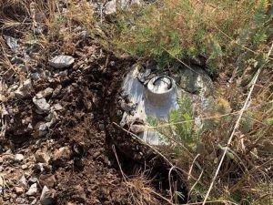 Şırnak'ta PKK'nın yola tuzakladığı EYP'ler imha edildi