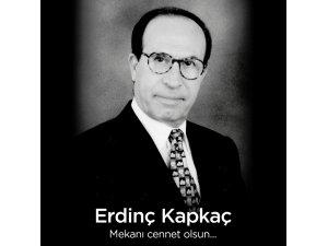 Türk Kuru üzüm sektörünün duayen isimlerinden Erdinç Kapkaç vefat etti