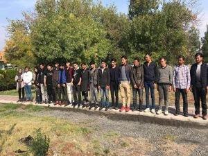 Balıkesir'de 116 mülteci yakalandı