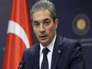 """Dışişleri Bakanlığı: """"Siyasi eşitlik olmadan Kıbrıs'ta müzakere olmaz"""""""