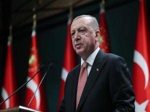 """Erdoğan: """"Camilerimiz ülkenin silüetinde öne çıktıkça hedeflerimize yaklaşıyoruz"""""""