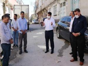 HÜDA PAR Gaziantep İl Başkanı Göçer'den Üstündağ ailesine bayram ziyareti