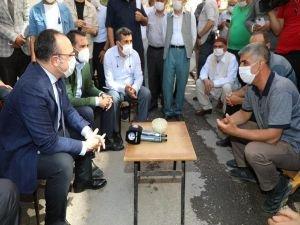 Elazığ Valisi mahalle ziyaretlerine devam ediyor