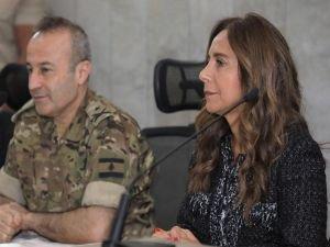 """Lübnan Savunma Bakanı Akar: """"Patlamanın sorumluları cezanlandırılacak"""""""