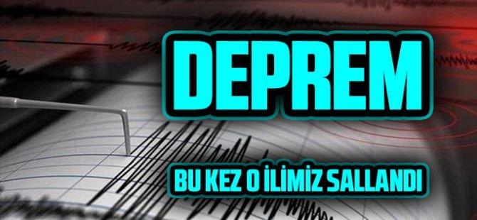Bitlis 4,6 büyüklüğündeki deprem ile sallandı