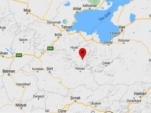 Bitlis'te meydana gelen depremde ilk belirlemelere göre can kaybı yaşanmadı
