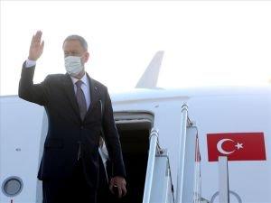 Milli Savunma Bakanı Hulusi Akar Azerbaycan'a gitti