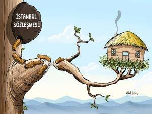 Gaziantep'teki 60 STK'dan ortak açıklama: İstanbul Sözleşmesi feshedilsin