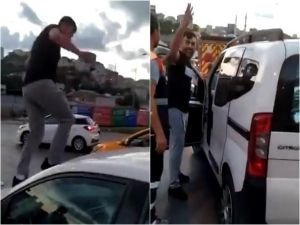 Vali Yerlikaya, trafikte kadına saldıran şahsın gözaltına alındığını açıkladı