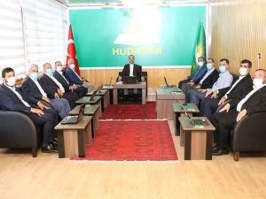 HÜDA PAR Başkanlık Divanı toplandı