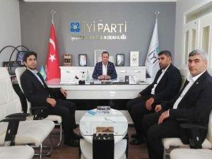 HÜDA PAR Şanlıurfa İl Başkanı Özaslan'dan İYİ Parti Şanlıurfa İl Başkanı'na ziyaret