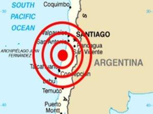 Şili'de birkaç dakika arayla 6,8 ve 6,3 büyüklüğünde iki deprem meydana geldi