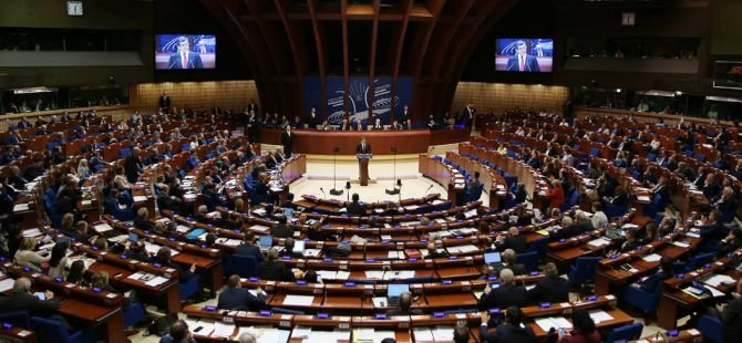 Davutoğlu, Avrupa Konseyi Parlamenterler Meclisi'nde konuştu