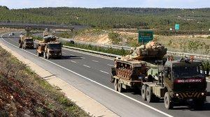 Kilis'teki askeri birliklere takviye yapıldı