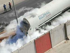TIR'ın çarptığı tankerden azot sızdı, facia ucuz atlatıldı