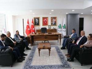 HÜDA PAR İstanbul İl Başkanlığından Gelecek Partisi İl Başkanlığına ziyaret