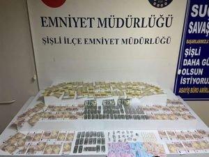 İstanbul'daki uyuşturucu operasyonunda yabancı uyruklu 6 kişi tutuklandı