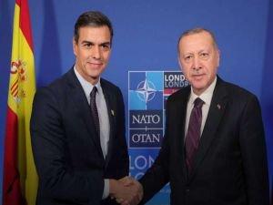 Cumhurbaşkanı Erdoğan İspanya Başbakanı ile görüştü