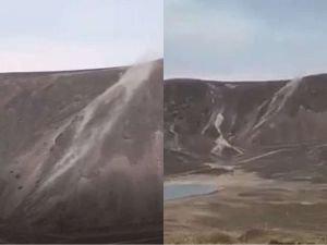 Muş depreminin ardından Nemrut Krater Gölü'nden yükselen buharlar korkutuyor