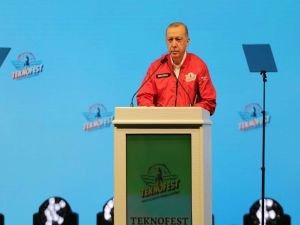"""Cumhurbaşkanı Erdoğan: """"Hedefimiz otomobil ve uçan araba"""""""