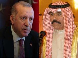 Cumhurbaşkanı Erdoğan, yeni Kuveyt Emiri es-Sabah ile telefonda görüştü