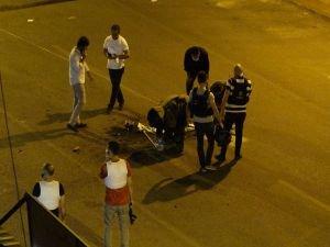 Diyarbakır'da sokak ortasına mesaj yazılarak bırakılan bomba fünye ile patlatıldı