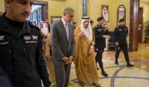 Suudi Arabistan'da Obama'ya soğuk karşılama