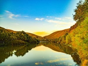 Ağrı'da sonbahar güzellikleri havadan görüntülendi