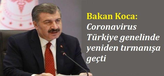 Coronavirus Türkiye genelinde yeniden tırmanışa geçti