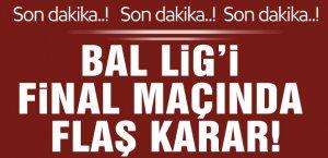 BAL Ligi maçında skandal karar!