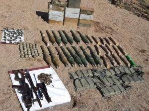 Van'da PKK'ya ait çok sayıda mühimmat ele geçirildi