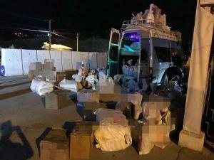 Yolcu minibüsünde 31 kilogram eroin ele geçirildi