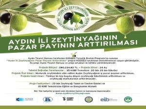 Zeytinyağı Pazar Payının Arttırılması Projesi Edirne Etkinliği