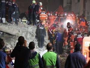 İzmir depreminde can kaybı 111'e yükseldi