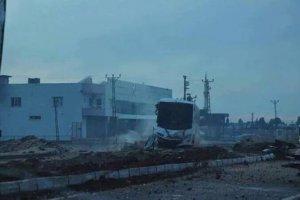 Nusaybin'de polis aracına saldırı: 10 yaralı