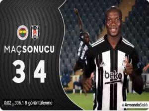 Beşiktaş dört köşe: 3-4